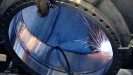 ASME pressure vessel welding