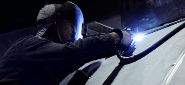 welding on pressure vessels