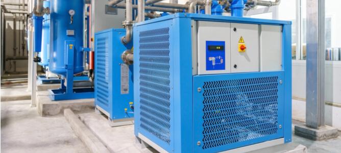 compressed air dryer types