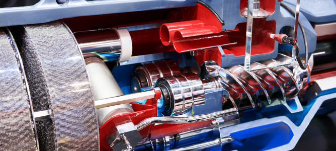 Znalezione obrazy dla zapytania screw compressor