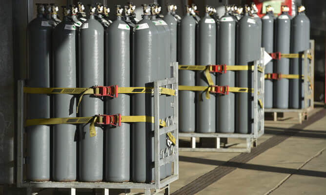 on-site nitrogen gas generation