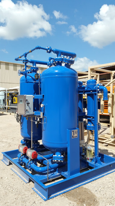 air desiccant dryer rental Houston