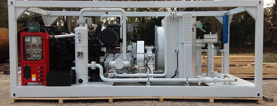 high-pressure booster compressor rental