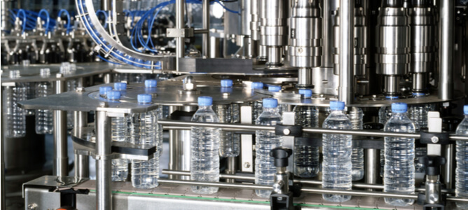 pet water bottle production